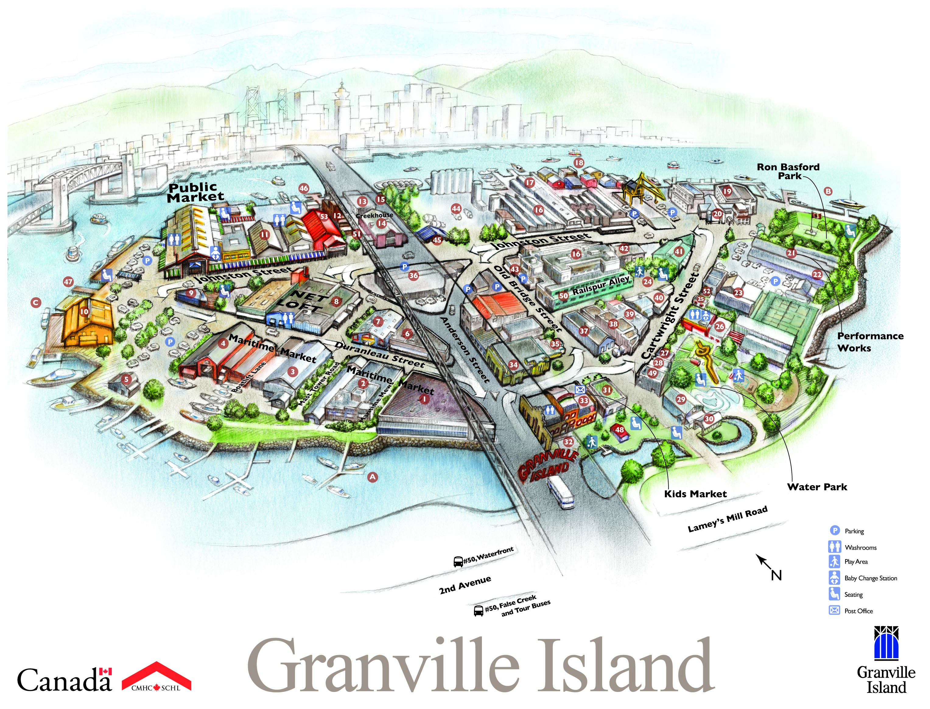 Granville Island Map GI Map Feb_09Edit copy   Granville Island Boatyard